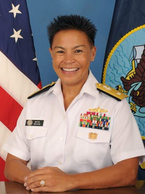 Rear Adm. Bette Bolivar