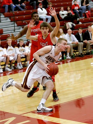 Ankeny's Riley McCoy has verbally committed to play basketball for Grand View.