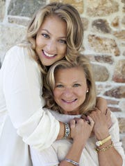 Mother and daughter Francesca Serritella and Lisa Scottoline