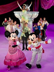 """Disney on Ice's """"Let's Celebrate!"""" features more than 50 classic and contemporary Disney characters."""