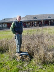 Some people, including Harold Schoeffler of the local chapter of the Sierra Club, are concerned the old rail yard near downtown Lafayette, poses an environmental risk to the Chicot Aquifer if Interstate 49 is built through the area,.