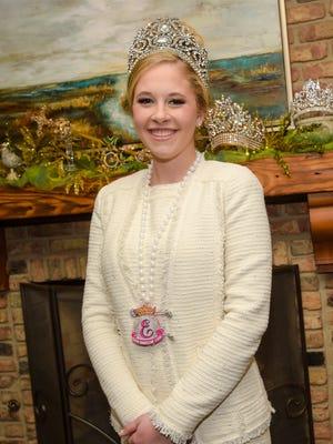 """Katherine Elise """"Katie"""" Blanchet,19, is Queen Evangeline LXXVII"""