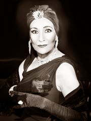 "Ginger Newman as Norma Desmond in ""Sunset Boulevard."""