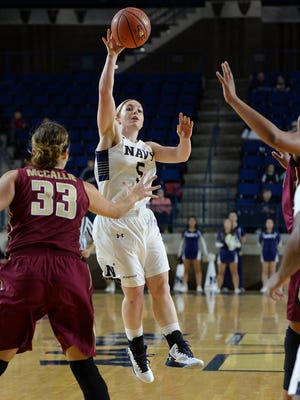 Pershing County graduate Sarita Condie is a junior at the U.S.Naval Academy.