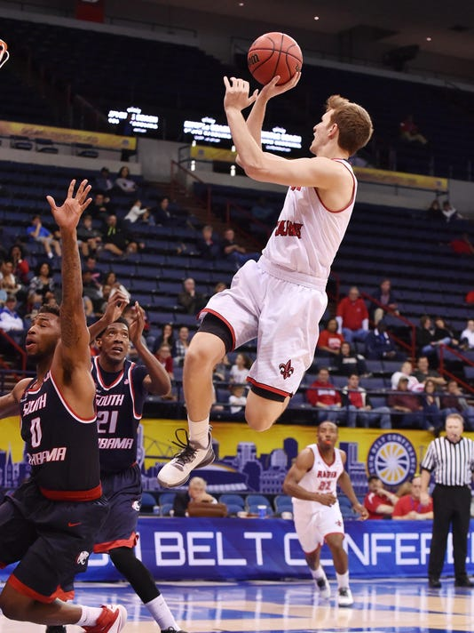 Ragin Cajuns blow by South Alabama into finals of Sun Belt Tuornament