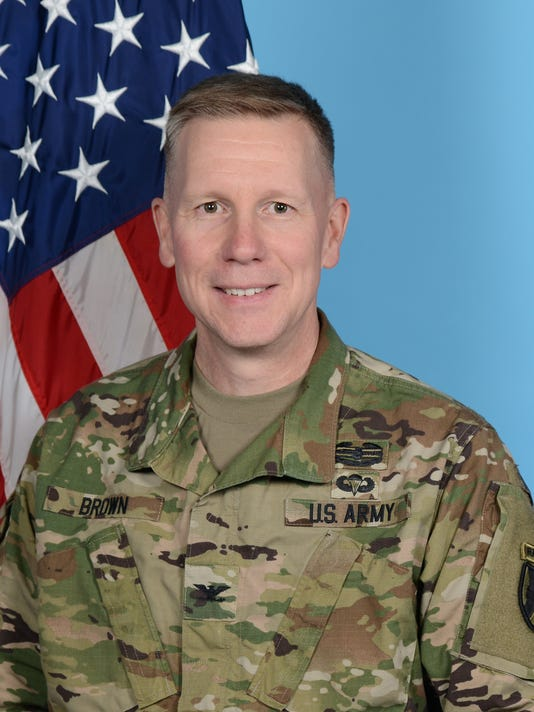 Army Col. Dave Brown