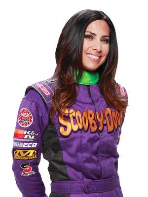 Nicole Johnson, the Scooby Doo Monster Jam truck driver.