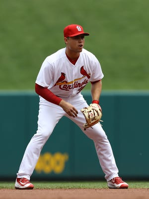 The Cardinals signed Aledmys Diaz to a four-year, $8 million deal in 2014.