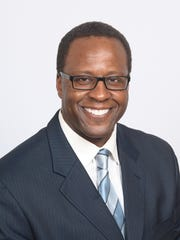 Carron L. Pinkins, a Democratic candidate for the 4th Senate District. He's an attorney from Detroit.