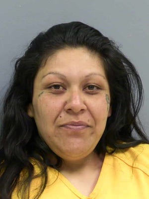 This March 11, 2016 law enforcement booking photo provided by the Curry County Detention Center in Clovis, N.M., shows Monica Mares. Mares, 36, is accused of engaging in an incestuous relationship with her 19-year-old son, who was put up for adoption as an infant and later reunited with his mother.