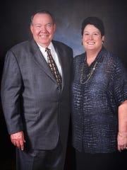 Billy Howard and his wife, Linda Howard