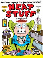 """This """"Neat Stuff"""" cover gives a good example of the inimitable style of Memphis Comic Expo guest artist Peter Bagge."""