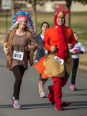 The 16th annual Turkey Trot 5K hosted by Grace Ministries will take place Thanksgiving morning.
