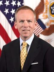 Brad Carson. former top Pentagon personnel chief.