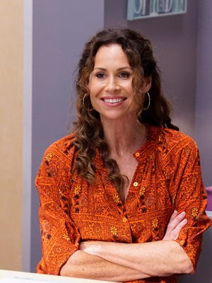 Maya (Minnie Driver) struggles as Kenneth takes over as JJ's full-time aide in 'Speechless.'