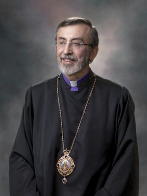 His Eminence Archbishop Khajag Barsamian, Primate of the Diocese of the Armenian Church of America (Eastern), headquartered in New York City.