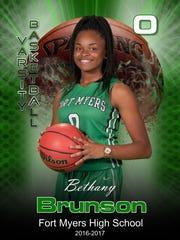 Junior guard Bethany Brunson