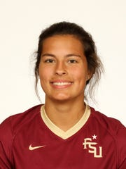 Former Navarre High School standout Emily Madril's