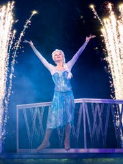 Elsa is one of the characters who will appear in Disney On Ice presents Dream Big at the American Bank Center, 1901 N. Shoreline Blvd., Thursday, May 4 through Sunday, May 7. Cost: $18-$67. Information: 361-826-4700 or Disneyonice.com.
