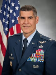 Maxwell Air Force Base, Alabama - Col Eric K Shafa, Commander of 42 Air Base Wing at Maxwell Air Force Base