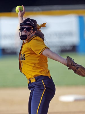 Pitcher Lauren Durstock picked up the win for Notre Dame in the 16-7 win over Boyle in the state tournament Thursday night.
