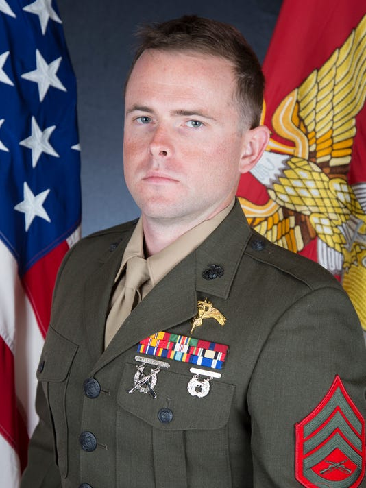 Staff Sgt Robert Cox Of Ventura County Photo Contributed Photo Marine Corps
