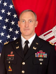 Col. Jason Kirk is the Commander of the U.S. Army Corps