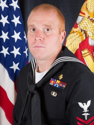 Ryan Lohrey, a Navy Hospital Corpsman, was among 16 killed when a military plane crashed in a Mississippi field July 10, 2017.