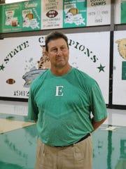 Eunice coach Paul Trosclair