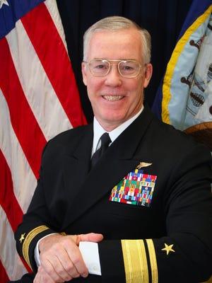 Retired Rear Adm. Donald Quinn.