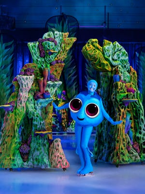 """The lovably forgetful Dory from the Disney and Pixar movie """"Finding Dory"""" will skate into the El Paso County Coliseum during Disney On Ice presents """"Follow Your Heart."""""""