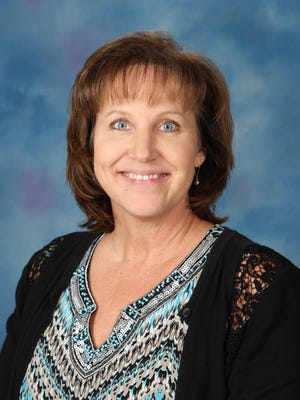 Susan Smith, office manager for Vista Elementary School in Simi Valley.