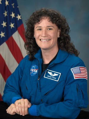 Dr. Serena Auñón-Chancellor, a 1993 Poudre High School graduate, is one of three astronauts who boarded a Soyuz booster headed for the International Space Station in June 2017.