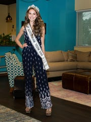 Lindsey Conque, Miss Louisiana Teen USA. Wednesday,