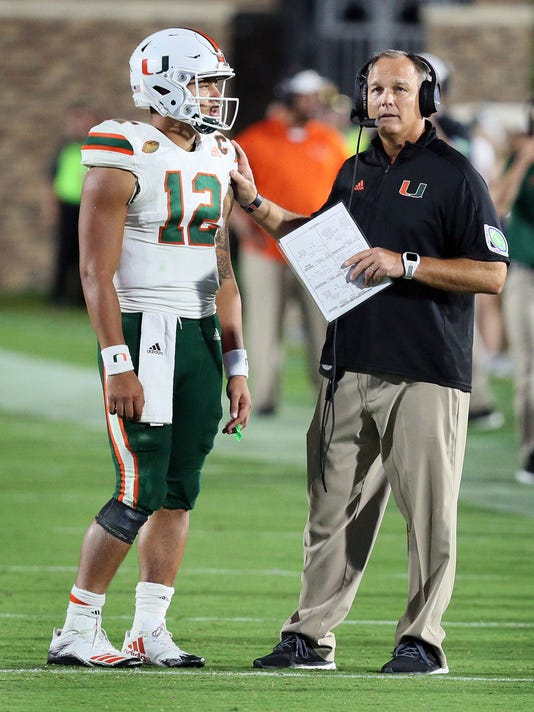 NCAA Football: Miami at Duke