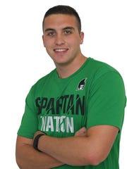 York College senior Joseph Salerno is one of 13 students