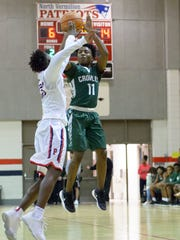 Crowley HIgh's Jacolby Byers has emerged this season as the Gents' steady point guard.