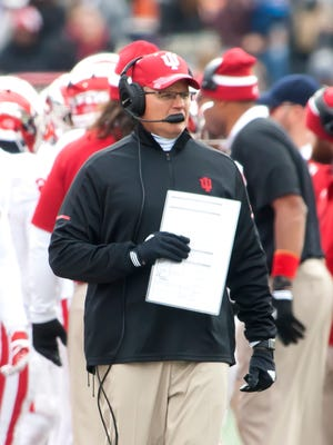 Tom Allen's first season as IU's head coach ended with a 5-7 record.