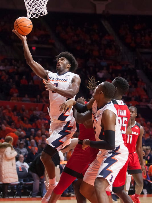 NCAA Basketball: Rutgers at Illinois
