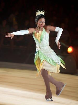 "Princess Tiana is one of the stars of ""Disney on Ice: Dream Big."""