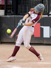Binghamton High graduate Paige Rauch, seen here playing for Fordham last season, is off to a fast start for Villanova's softball team.