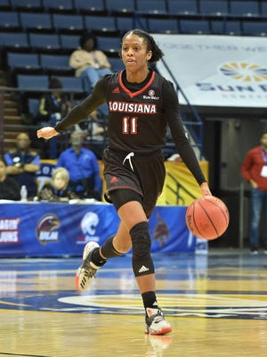 UL freshman guard Skyler Goodwin had 15 points and four rebounds in the Cajuns' 54-48 win over UTA on Thursday at Lakefront Arena.