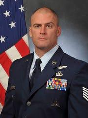 Pararescueman then Tech. Sgt. William Posch assigned