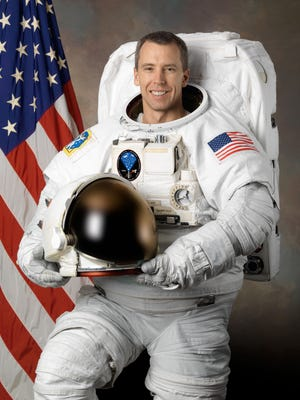Astronaut Drew J. Feustel, of Lake Orion Michigan, was on board the Soyuz MS-08 spacecraft that blasted off from the Baikonur Cosmodrome in Kazakhstan on Wednesday, March 21.
