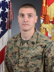 Gunnery Sgt. Derik R. Holley, 33, of Dayton, Ohio, killed April 3 in helicopter crash near El Centro, Calif.