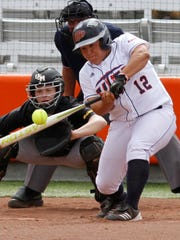 Camilla Carrera, who led the nation in home runs for UTEP.