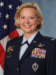 Col. Jennifer Reeves, commander of the 341st Missile
