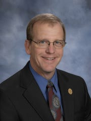Boone County Schools Superintendent Randy Poe set the