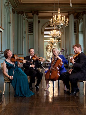 The Cypress String Quartet will perform at 7 p.m. on April 24 at the Sidney & Berne Davis Art Center.