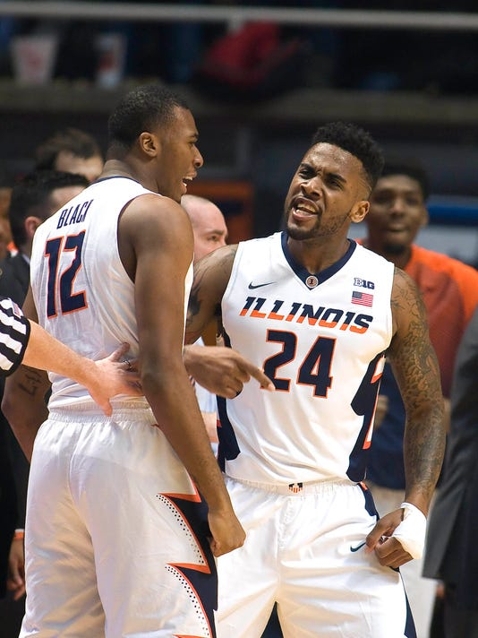 NCAA Basketball: Michigan State at Illinois